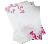 farbig gemusterten Briefpapier (8 Teile der Ausrüstung, Zufallsmuster)
