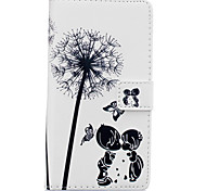 Dandelion Child Pattern PU Leather Material Phone Case for Huawei Ascend P9 Lite/ P9