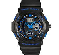SYNOKE Masculino Relógio Esportivo Relógio de Pulso Relogio digital Quartzo Digital Quartzo JaponêsLCD Calendário Cronógrafo Impermeável