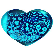 BlueZOO Love Blue Nail Art Stamping (17)
