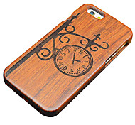 Wood Street Lamp Clock Hard Back Cover for iPhone 5/5s