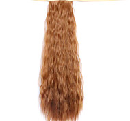 Wig Brown 50CM Water Synthetic High Temperature Wire Hot Corn Horsetail Color 27A