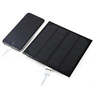 3W 5v usb saída de silício monocristalino painel solar para diy