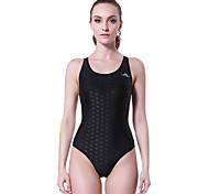 SBART® Women's Swimwear Stretch / Compression One Piece Adjustable Adjustable Black Black XL / XXL / XXXL