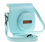 PU Leather Camera Case for Fujifilm Instax Mini 8 Camera Mini8/Mini 8+ Instant Film Camera