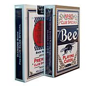 Tarjetas de abeja juego fluorescentes 92 de la marca de la abeja tarjetas de lucha contra la falsificación (2 unidades)