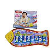gelber Fisch Touch Klavier für alle Kinder Musikinstrumente Spielzeug