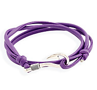 Unisex Alloy Leather Handcrafted Vintage Bracelets(More Colors) Christmas Gifts