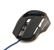 Computer Backlight Dragon 7 Button Gaming Mouse