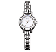 Julius Korea Women Watch Fashion Noble Rhinestone Design Waterproof Quartz Watch JA-883