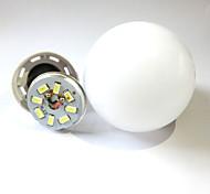 9W E27/B22 LED Globe Bulbs Recessed Retrofit 38LED SMD 2835 600lm Warm White/Cool White Decorative AC 220-240V 1pcs