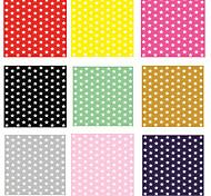 6pcs Colored Stars Nail Stickers  Random Color