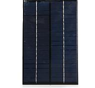 4W 18V de salida del panel solar de silicio policristalino de bricolaje