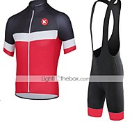KEIYUEM Bike/Cycling Clothing Sets/Suits Unisex Short SleeveBreathable / Quick Dry / Dust Proof / Wearable / Stretch / Sweat-wicking /