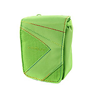 L Size Camera Case for Casio zr1000/zr1200/rx100  8.5*5*10.5 Green
