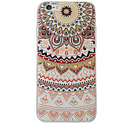 cas tpu souple avec motif d'impression 3d 6s iphone 6 / iphone / 6s iphone 6 plus / iphone, plus totem