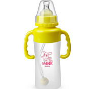 Biberón Plastic For Cuidado / La alimentación de los cubiertos 0-6 meses / 1-3 años de edad / 6-12 meses Bebé