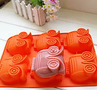 Owl Shape Silicone Cake Pan Chocolate Soap Pudding Jelly Candy Ice Cookie Biscuit Mould