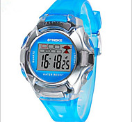 SYNOKE Kids' Sport Watch Wrist watch Digital Watch LCD Calendar Chronograph Water Resistant / Water Proof Alarm Luminous Digital Plastic