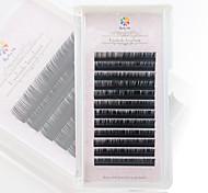 A box has 12 rows of eyelashes Ресницы Ресницы Пучковые накладные ресницы Глаза / Ресницы Натуральная длина Расширенный / ОбъемныеHalf