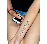 Hot! Temporary Body Tattoo Paste Waterproof Tattoo Stickers Wholesale for Men and Women,6 Style Tattoo Paste