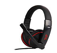 SALAR A500 Headphones (Headband) For Media Player/Tablet / Mobile Phone / Computer with Microphone / DJ / Volume Control