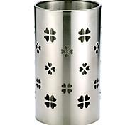 Oak®Stainless Steel Chopsticks Utensil Holder,Cylinder Shaped Rotating Chopsticks Holders