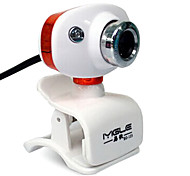 USB 2.0 HD Webcam 1.2m CMOS 640x480 45fps