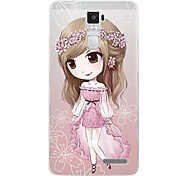 For OPPO Case Pattern Case Back Cover Case Cartoon Soft TPU OPPO