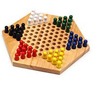 дети шестиугольные шашек