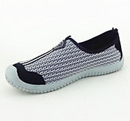 Breathable Mesh Rubber Splice Man Casual Shoes