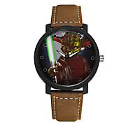 Student Watch Men Sport Watches Men Leather Wristwatch Clock Hours Quartz Watches Cool Watch Unique Watch