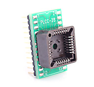 PLCC28 to DIP24 for MCU Seat and IC Testing Seat Module Adapter