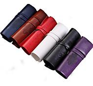 Retro Leather Pen Bag (Random Colors)