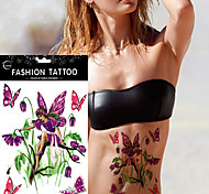 5 Tatuajes Adhesivos Otros Non Toxic WaterproofMujer Adulto flash de tatuaje Los tatuajes temporales