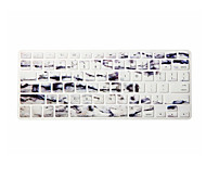 Marbling Design Silicone Keyboard Cover Skin for Macbook Air 13.3/Macbook Pro 13.3 15.4,US version