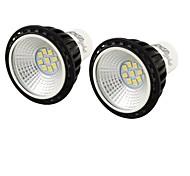 5W GU10 LED Spot Lampen MR16 9 SMD 2835 450 lm Kühles Weiß Dekorativ AC 100-240 V 2 Stück