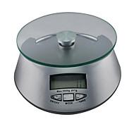 la precisión 1g 5kg rango máximo de ingredientes para hornear balanza de cocina electrónica