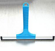 janela de limpeza escova de uso fácil, plástico / silicone (cores aleatórias)