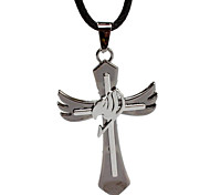 Dx124 Fairy Tail Necklaces, Cross Pendant, Students Personality Necklace