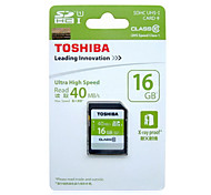 toshiba 16 g carte mémoire de l'appareil photo sd slr 32 g kcal 64 g 40 m / s Class10 à bord des cartes mémoire