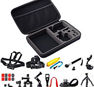Gopro Accessories Tripod / Gopro Case/Bags / Buoy / Suction Cup / Straps / Hand Grips/Finger Grooves / Mount/Holder All in One, For-