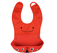 Hot sale Updated New Baby Silicone Bib Kids Bibs Children Pick Rice Pocket Cute Boy And Girls Bibs
