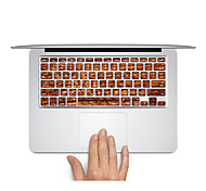 "Keyboard sticker Wood  Laptop keys Decal for MacBook Air 13"" MacBook Pro Retina 13'/15"" MacBook Pro15"" MacBook Pro 17"