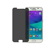 Vidrio Templado Dureza 9H / Borde Curvado 2.5D Protector de Pantalla Frontal Privacidad AntiespionajeScreen Protector ForSamsungGalaxy S6