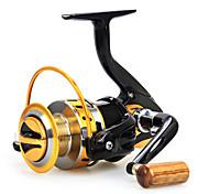 Катушки для наживок 5.5:1 12 Шариковые подшипники Заменяемый Морское рыболовство / Ловля на приманку / Пресноводная рыбалка-Baitcast Reels