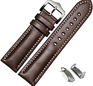 A-store Genuine Leather Watch Band Strap Free Lugs Adapters For Samsung Galaxy Gear S2 SM-R720