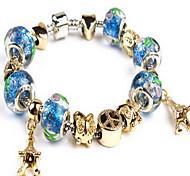Fine Styly Beads Strand Bracelet with Beautiful Pendant Charm Bracelet