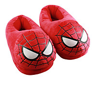 Zapatillas Característica Vellón de Coral Zapatos Kigurumi Pijamas ropa de noche de los animales Rojo Un ColorHalloween / Navidad / Día