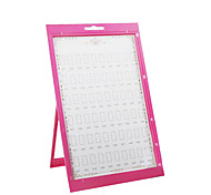 Nail Supplies Nail Color Swatch Card Display Panels Frame Plastic Template Color Version